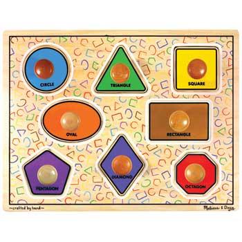 Melissa & Doug® Jumbo Knob Puzzle