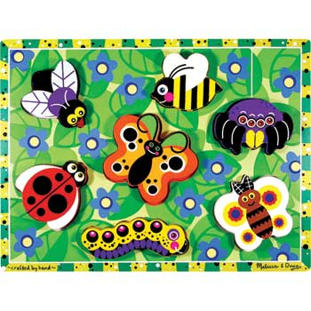 Melissa & Doug® Original Chunky Puzzle, Insects