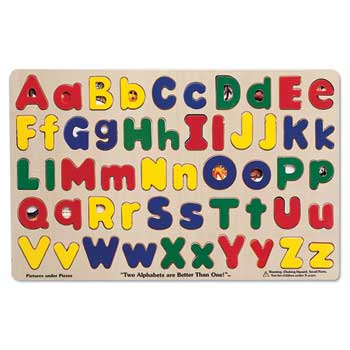 Upper & Lower Case Alphabet