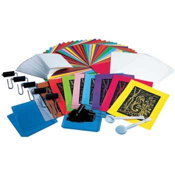 Melissa & Doug® Scratch-Art Scratch-Foam Classroom Pack