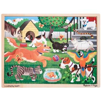 Melissa & Doug® Pets Jigsaw, 24 Pieces