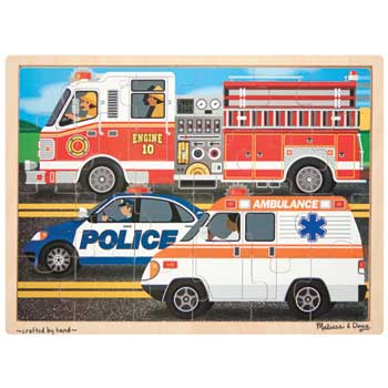 To The Rescue! Jigsaw, 24 Pieces