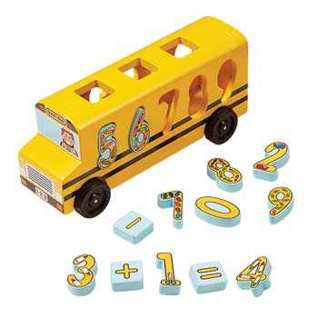 Melissa & Doug® Number Matching Math Bus