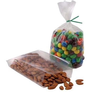 LADDAWN Gusseted Polypropylene Bag, 4.25'' L x 3.25'' W x 13'' H, 1.5 Mil, 1000/CS