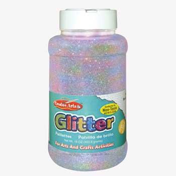 Charles Leonard, Inc. Glitter, Iridescent, 16 oz.