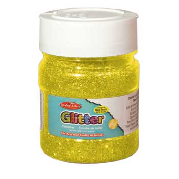 Charles Leonard, Inc. Glitter, Gold, 4 oz.