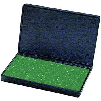 Charles Leonard, Inc. Stamp Pad, Green