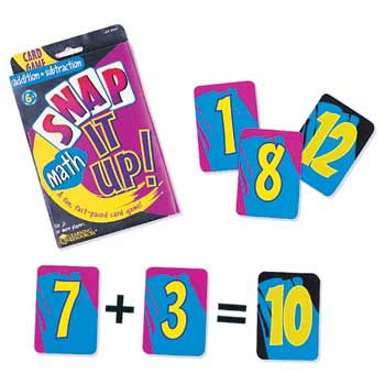 Learning Resources® Snap It Up Addition/Subtraction Gr 1 & Up