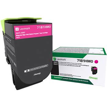 LEX71B1HM0 CS/X417/517 Magenta High Yield Return Program Toner Cartridge