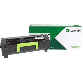 Lexmark™ Lexmark Black Extra HY Toner, 10,000 pg. yield