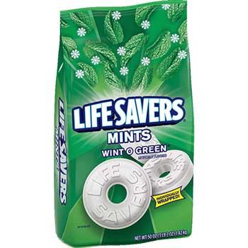 LifeSavers® Wint O Green Mints Candy Bag, 50 oz.