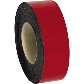"W.B. Mason Co. Warehouse Labels, Magnetic RLs, 2"" x 50', Red, 1/CS"