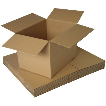 W.B. Mason Co. Corrugated Cube Shipping boxes, 8L x 8W x 8H, 25/BL