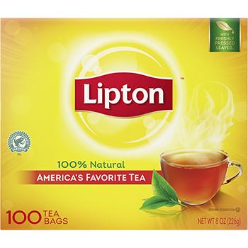 Tea Bags, Regular, 100/BX