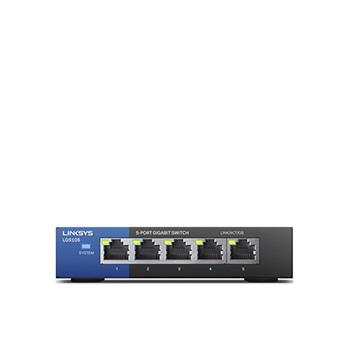 LINKSYS™ 5 Port Desktop Gigabit Switch