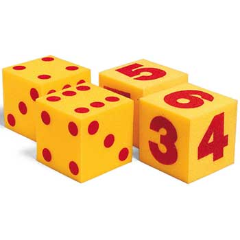 Learning Resources® Giant Soft Foam Cubes, 2/ST