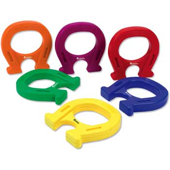 Learning Resources® Horseshoe-spahed Mighty Magnets, 6/ST