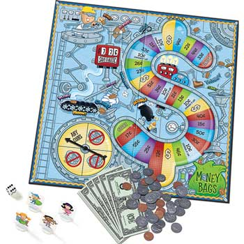 Learning Resources® Money Bags™ Coin Value Game