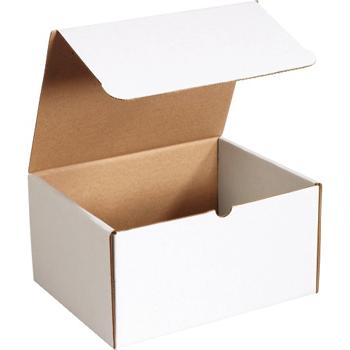 "W.B. Mason Co. Literature mailers, 12 1/8"" x 9 1/4"" x 6"", White, 50/BD"