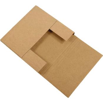 "W.B. Mason Co. Easy-Fold mailers, 18"" x 18"" x 2"", Kraft, 50/BD"