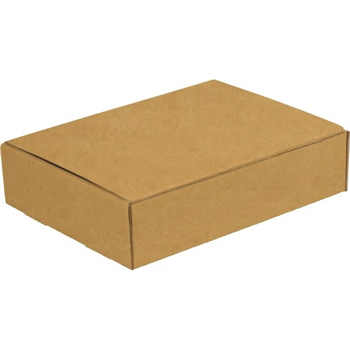 "W.B. Mason Co. Literature mailers, 12"" x 9"" x 2"", Kraft, 50/BD"