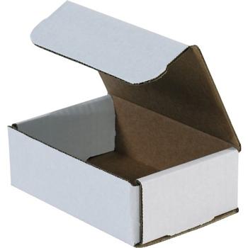 "W.B. Mason Co. Corrugated mailers, 7"" x 5"" x 2"", White, 50/BD"