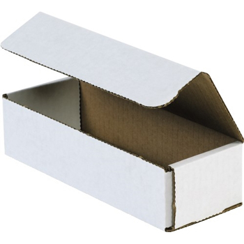 "Corrugated mailers, 16"" x 4"" x 4"", White, 50/BD"