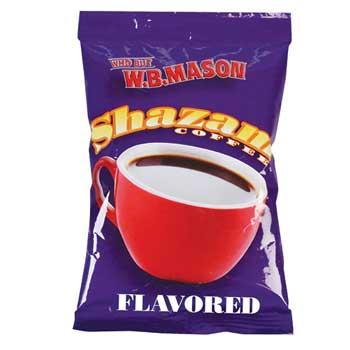 Shazam™ Pre-Measured Coffee Packs, Swiss Chocolate Almond, Light Roast, 2.25 oz., 24/CT