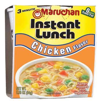 Maruchan® Instant Lunch, Chicken, 12/CS