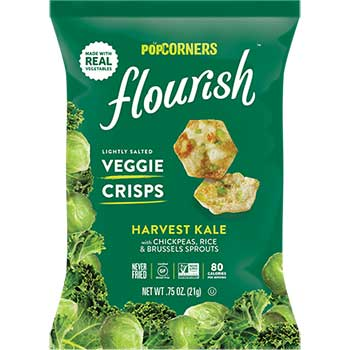 Flourish Kale Crisps, 0.75 oz., 24/CS
