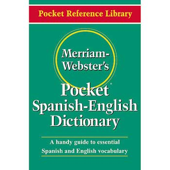 Merriam Webster® Pocket Spanish-English Dictionary