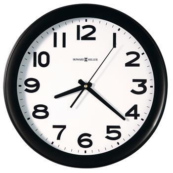 "Howard Miller® Kenwick Wall Clock, 13-1/2"", Black"