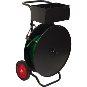 W.B. Mason Co. Strapping Cart, Economy, MIP5100, Black