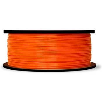 "PLA Filament, 2.2 lbs., 8"" dia., True Orange"