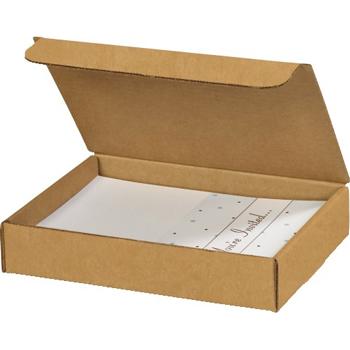 """W.B. Mason Co. Literature mailers, 9"""" x 6 1/2"""" x 1 3/4"""", Kraft, 50/BD"""