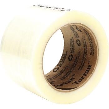 369 Hot Melt Carton Sealing Tape, 48mm x 100m, 1.6mil, 6/PK