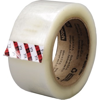 371 Hot Melt Carton Sealing Tape, 72 mm x 100 m, 1.9 mil.