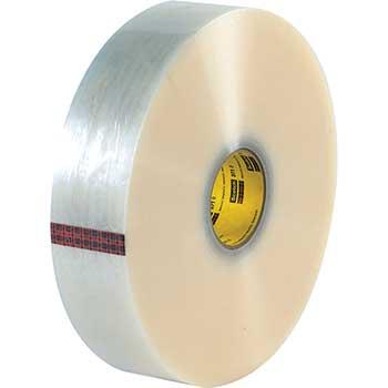 "3M™ 371 Carton Sealing Tape, 1.9 Mil, 2"" x 1000 yds., Clear, 6/CS"