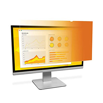 """3M™ Gold Privacy Filter for 19.5"""" Widescreen Monitor - Gold, Glossy"""