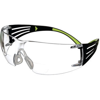 SecureFit™ Safety Glasses, Clear Scotchgard Anti-fog Lens, +1.5 Diopter