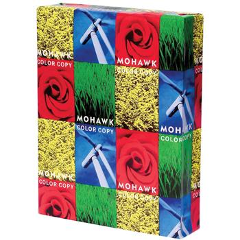 """Mohawk Bright White Smooth Cover, 19"""" x 13"""", 100 lb., 98 Bright, 500/CT"""