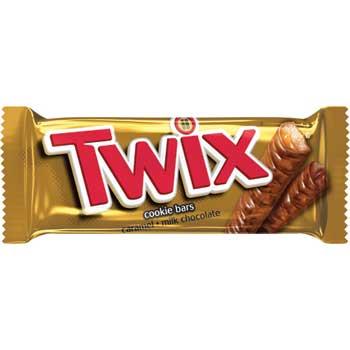 Twix® Caramel Cookie Bars, 1.79 oz, 36/BX