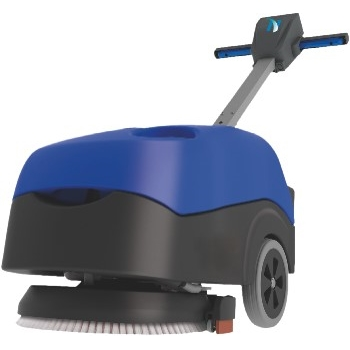 """NaceCare™ Solutions Walk-Behind Battery Scrubber w/ Pad Driver, Compact 16"""", 5 Gal."""
