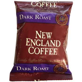 New England® Coffee San Francisco Blend, Dark Roast, 2.5 oz., 24/CT