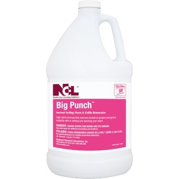 National Chemical Laboratories Big Punch™ Instant Acting Oven & Grill Cleaner, 1 gal, 4/CS
