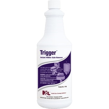 National Chemical Laboratories Trigger Instant Mildew Stain Remover, 32 oz., 12/Case