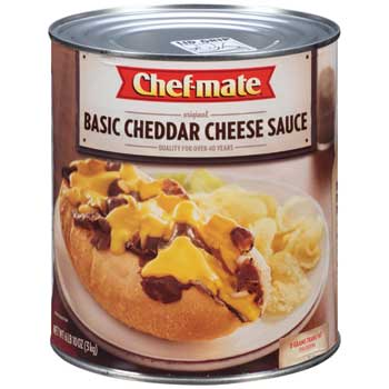 Basic Cheddar Cheese Sauce, 6.625 lb.  Can