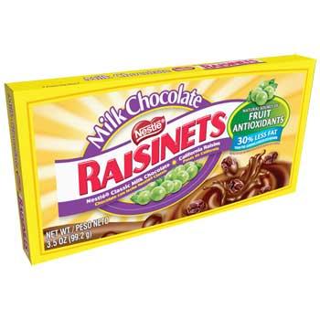 Nestlé® Raisinets®, Milk Chocolate, 3.5 oz., 60/CS