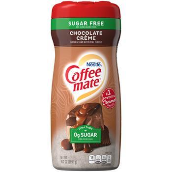 Coffee mate® Creamy Chocolate Sugar Free Powdered Coffee Creamer, 10.2 oz. Canister