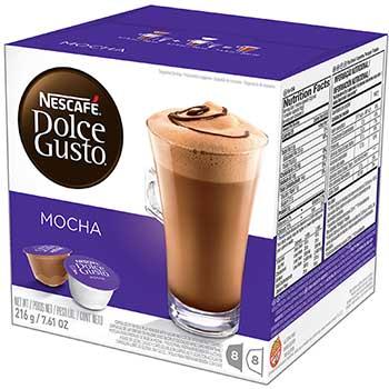 Mocha Coffee Capsules, 16/BX